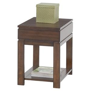 Progressive Furniture Miramar Storage Chairside Table