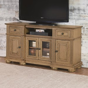 Traditional 60 Inch Console with Bun Feet