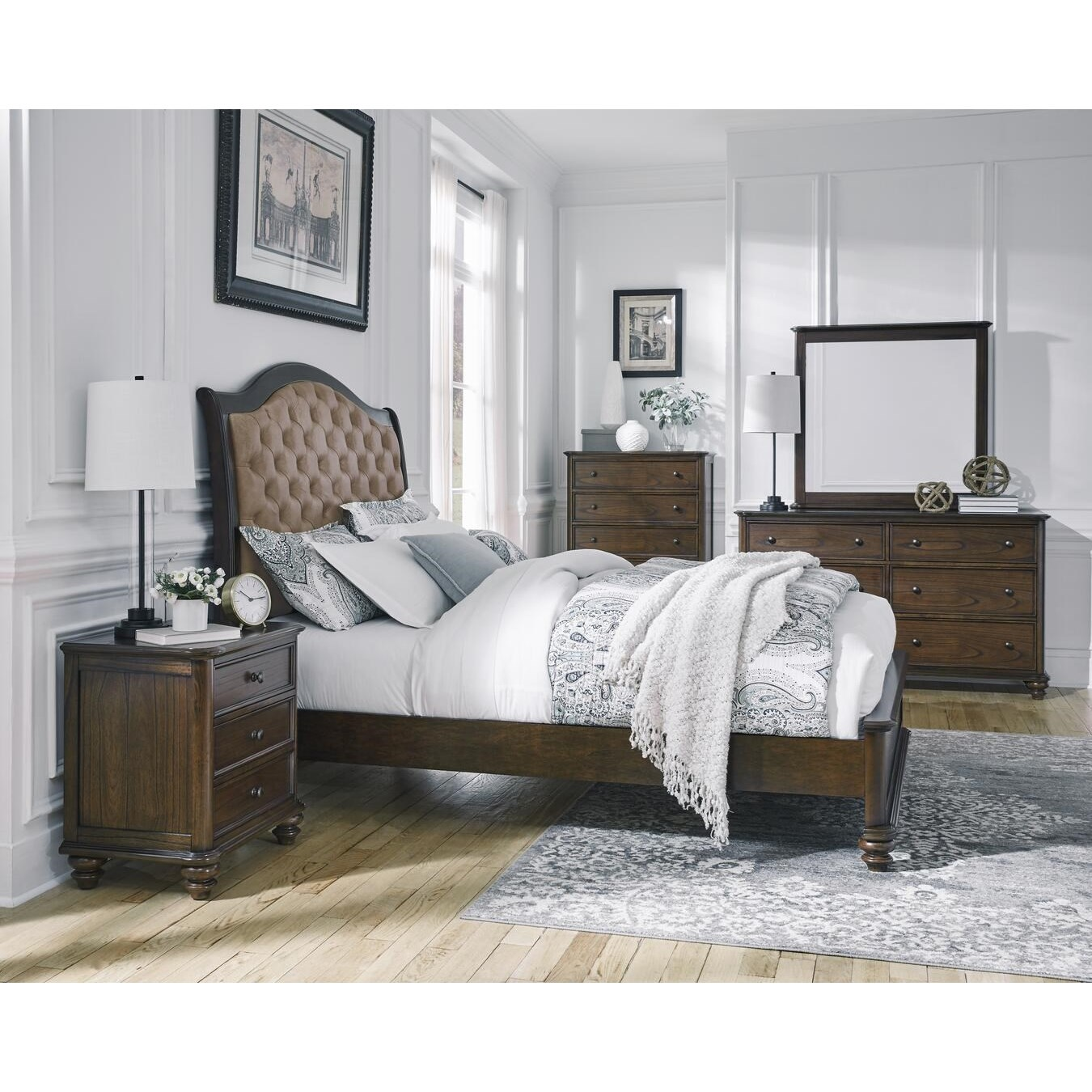 Pearson King Bedroom Group by Progressive Furniture at Carolina Direct