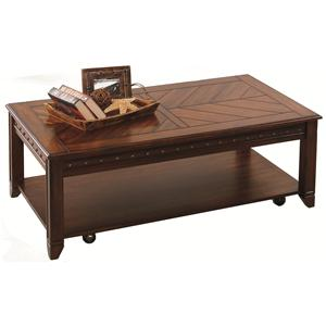 Progressive Furniture Redding Ridge Rectangular Cocktail Table