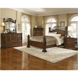 Progressive Furniture Regency King Bedroom Group