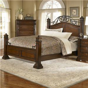 Progressive Furniture Regency Queen Panel Bed