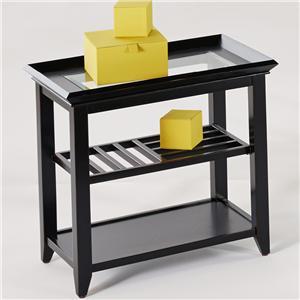 Progressive Furniture Sandpiper Chairside Table