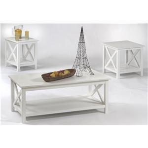 Progressive Furniture Seascape I 3 Pack Table Group