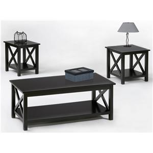 Progressive Furniture Seascape II 3 Pack Table Group