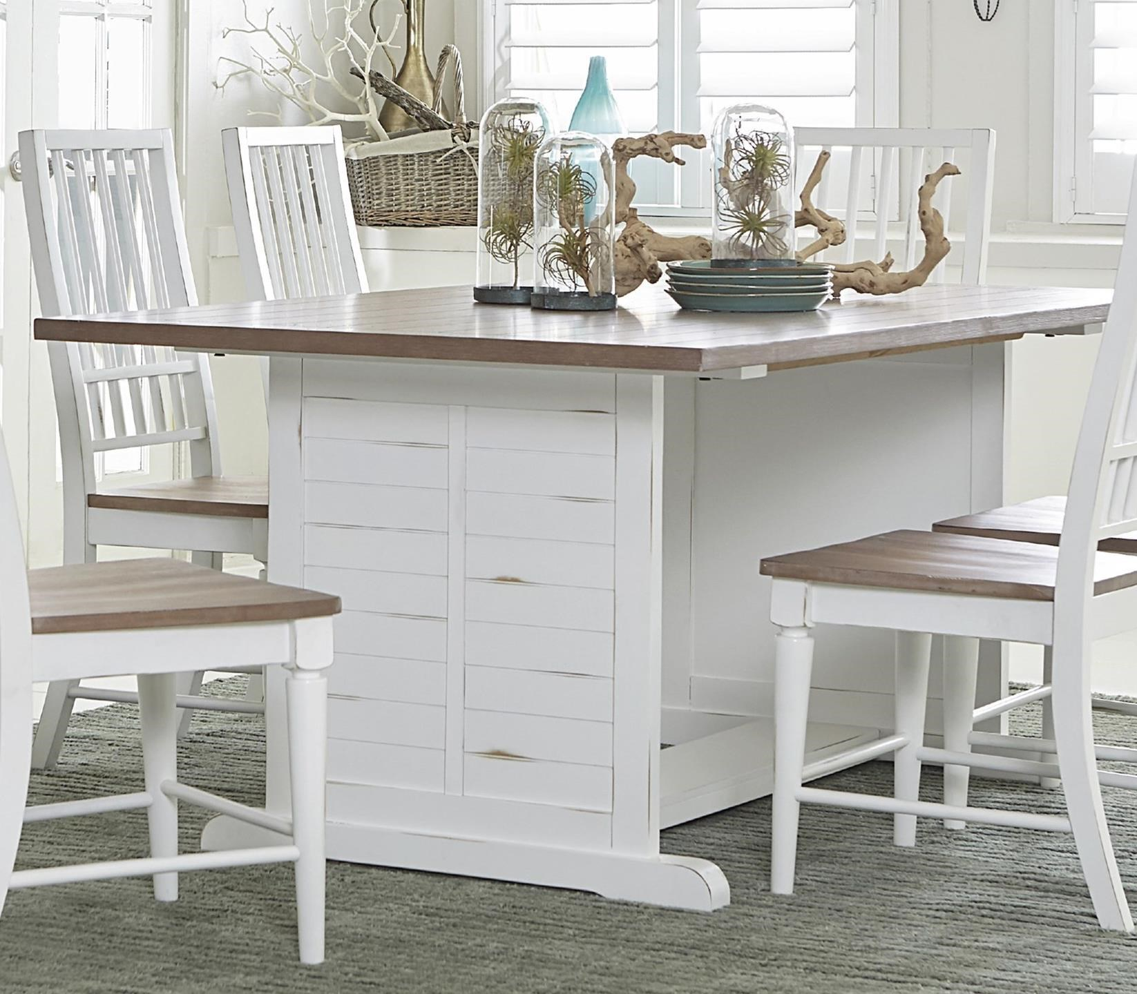 Shutters  Dining Table by Progressive Furniture at Van Hill Furniture