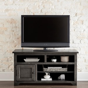 """Contemporary 50"""" Console with Adjustable Shelves"""