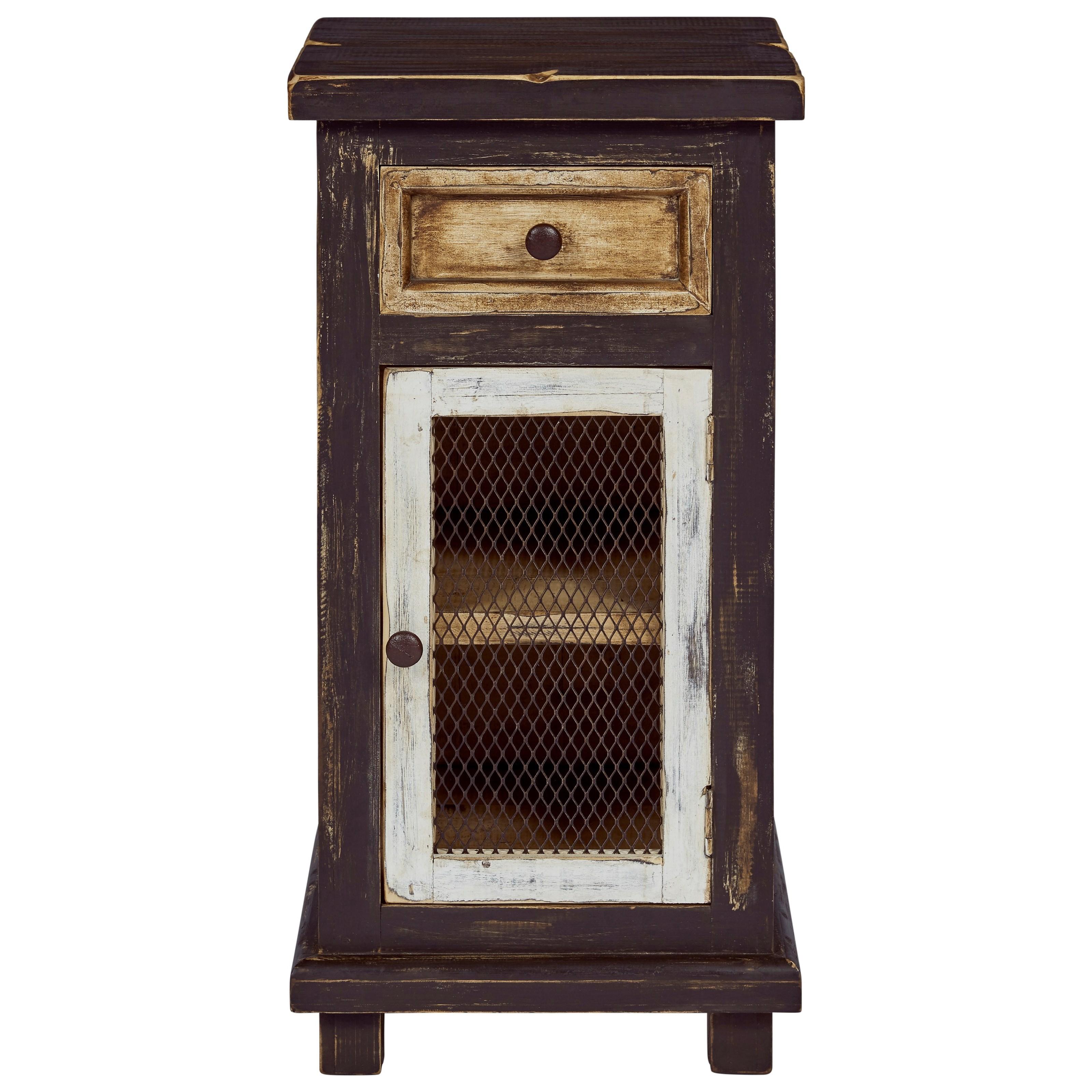 Stella Chairside Cabinet by Progressive Furniture at Bullard Furniture