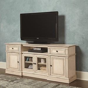 "72"" Entertainment Console with Wire Management"