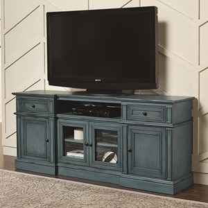 """72"""" Entertainment Console with Wire Management"""