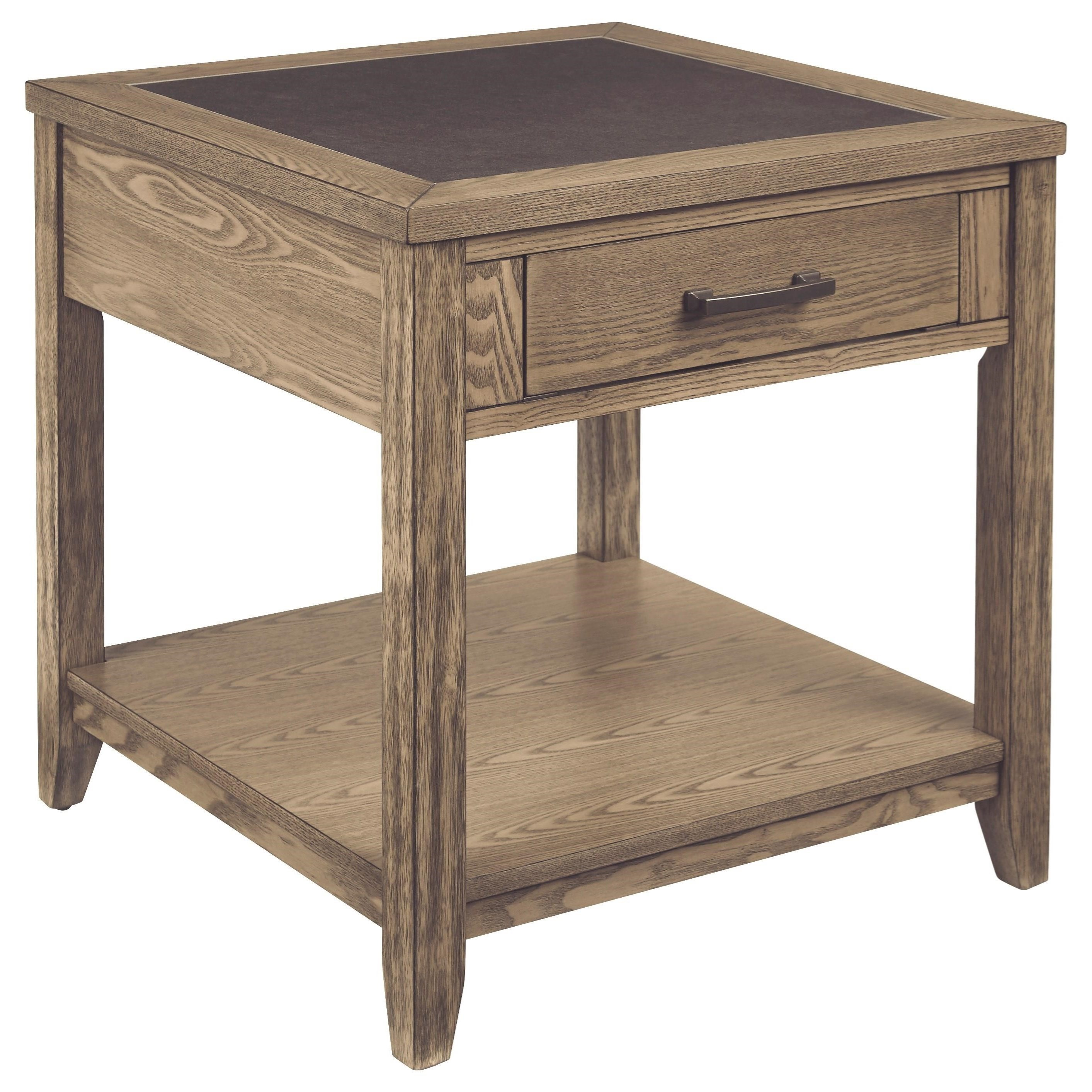 Sun Valley Square End Table by Progressive Furniture at Van Hill Furniture