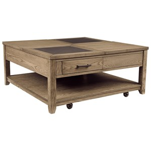 Square Lift-Top Cocktail Table