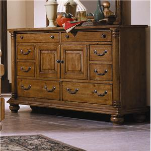 Progressive Furniture Thunder Bay Door Dresser