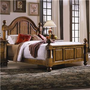 Progressive Furniture Thunder Bay Queen Low Poster Bed