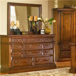 Progressive Furniture Torreon Dresser & Mirror
