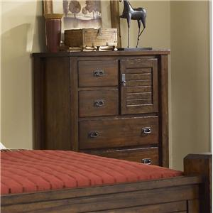 Progressive Furniture Trestlewood Chest