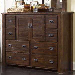 Progressive Furniture Trestlewood Dresser