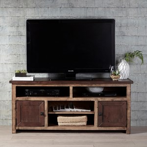 60 Inch Two-Toned Console
