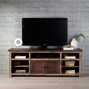 70 Inch Two-Toned Console