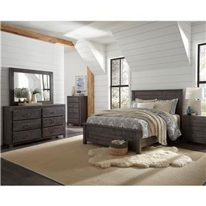 6 Piece Full Bedroom Group