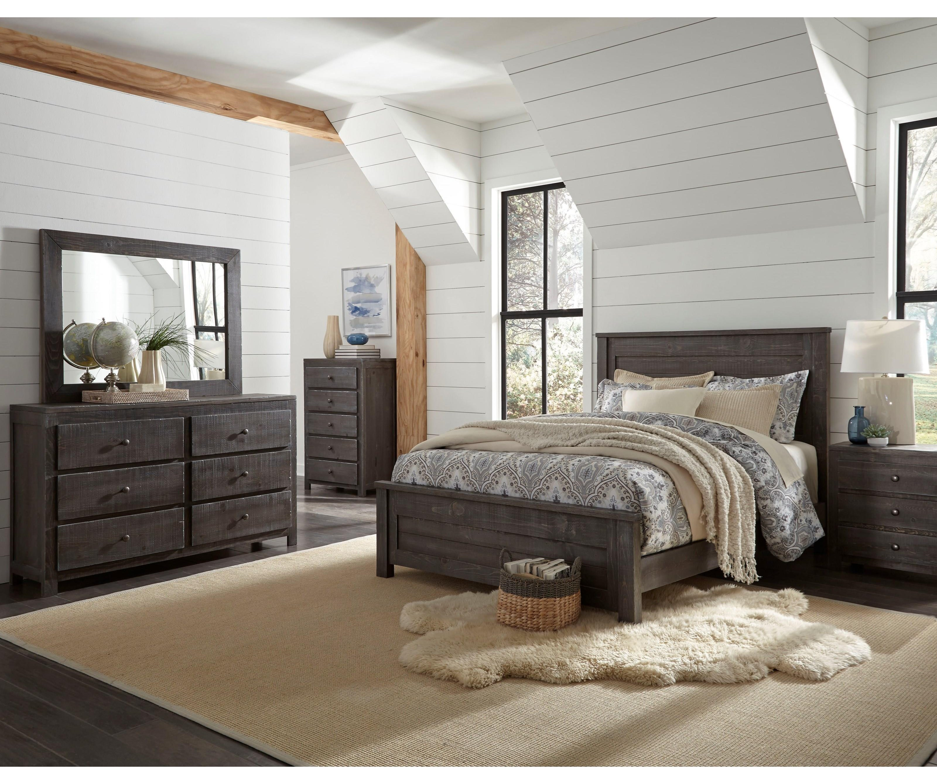 Wheaton 4 Piece Full Bedroom Set by Progressive Furniture at Sam Levitz Furniture