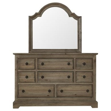 Wildfire Dresser & Mirror by Progressive Furniture at Van Hill Furniture