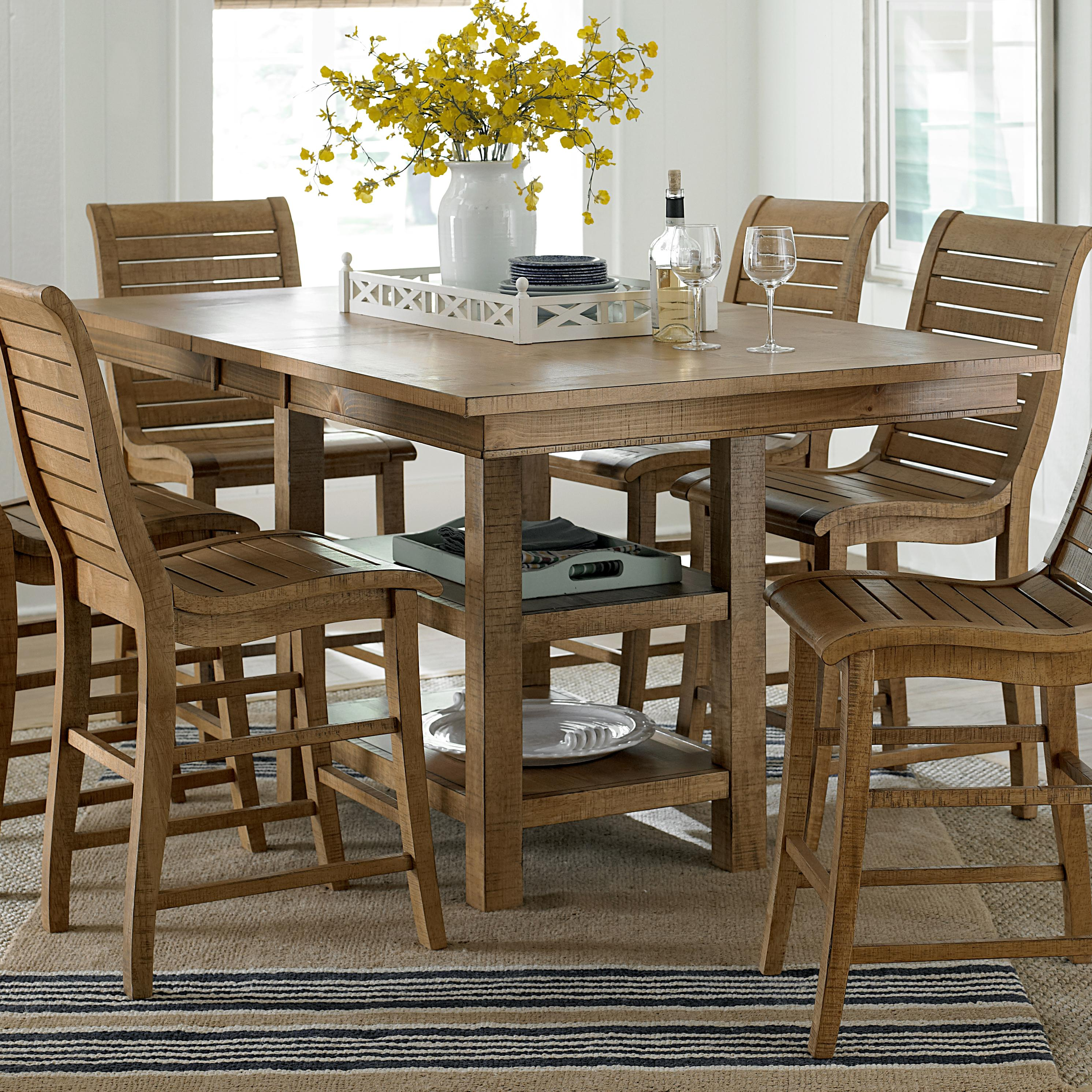 Willow Dining Rectangular Counter Height Table by Progressive Furniture at Lindy's Furniture Company