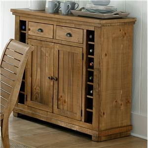 Progressive Furniture Willow Dining Server