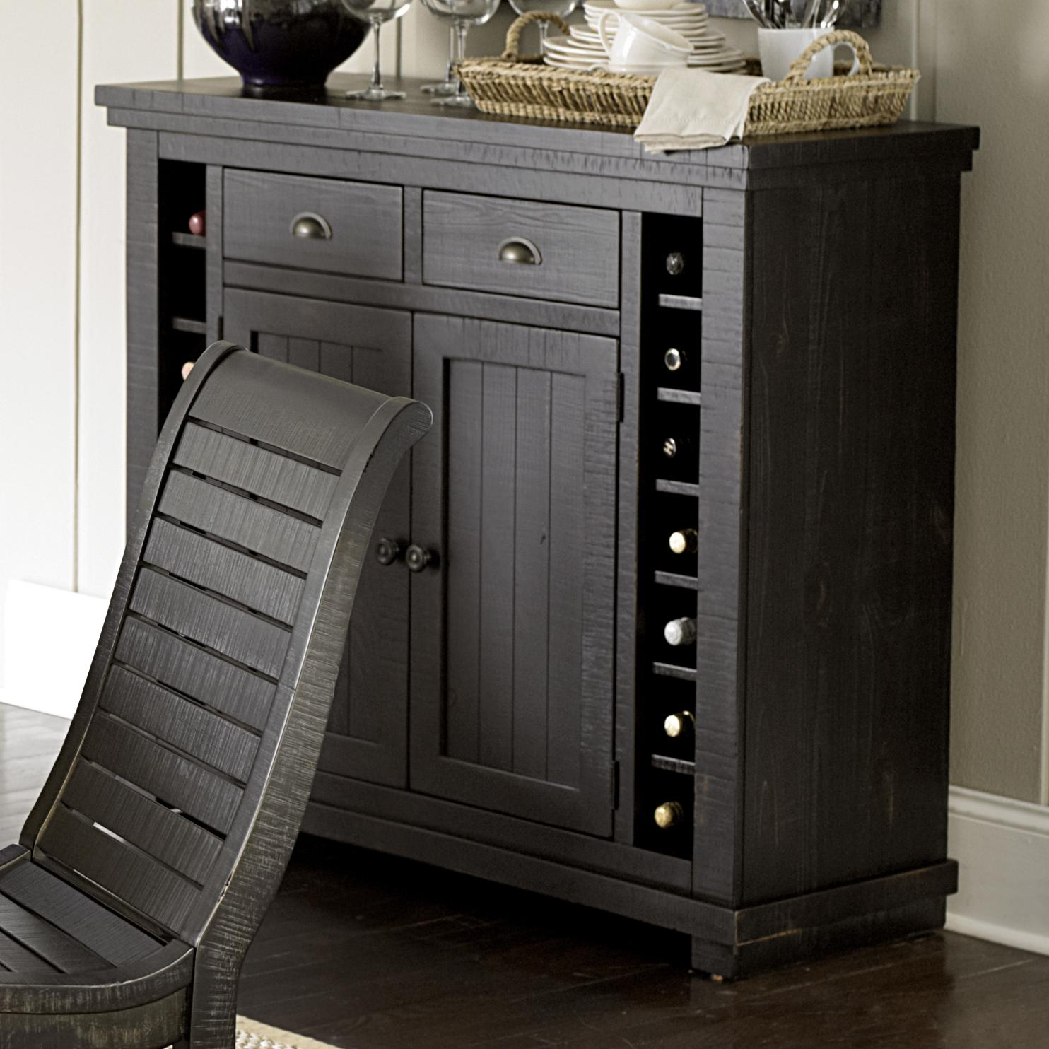 Willow Dining Server by Progressive Furniture at Van Hill Furniture