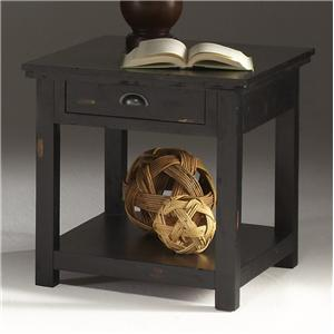 Progressive Furniture Willow Occasional Rectangular End Table