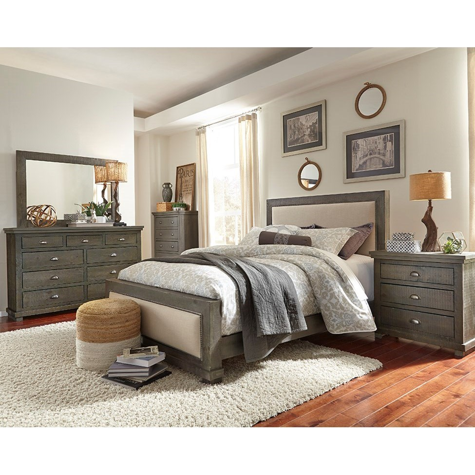 Willow Full Bedroom Group by Progressive Furniture at Catalog Outlet