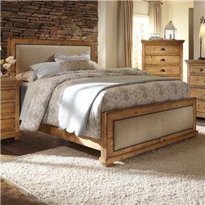 Progressive Furniture Willow Queen Upholstered Bed