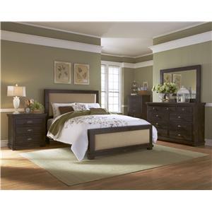 Progressive Furniture Willow California King Bedroom Group