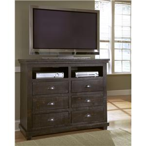 Progressive Furniture Willow Media Chest