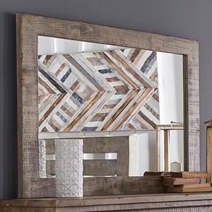Distressed Pine Mirror