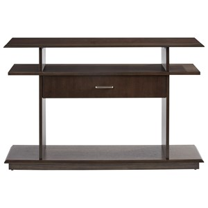 Contemporary Console Table with Drawer