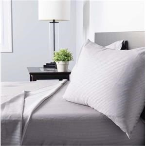 Twin Natural Cotton Sateen Sheet Set