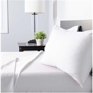 Queen Natural Cotton Sateen Sheet Set