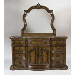 Pulaski Furniture San Mateo Dresser & Mirror Combo