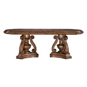 Pulaski Furniture San Mateo Double Pedestal Dining Table