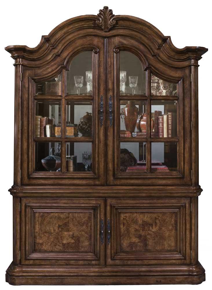 San Mateo China Cabinet by Pulaski Furniture at Baer's Furniture