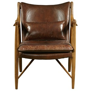 Anderson Chair in Brandy Leather