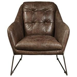 Clara Chair in Mocha Leather