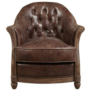 Andrew Chair with Button Tufted Back