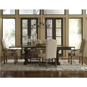 Pulaski Furniture Accentrics Home 6 Piece Table & Chair Set