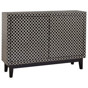 Adams Credenza with Geometric Graphic Pattern
