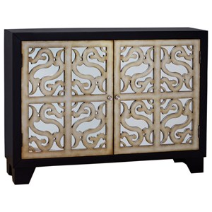 Finesse Accent Console with Wine Storage