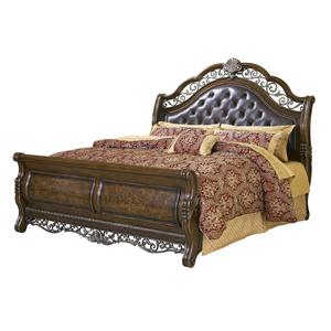 Pulaski Furniture Birkhaven California King Sleigh Bed