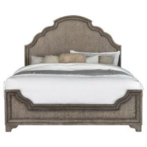 Traditional Queen Bedroom Panel Bed