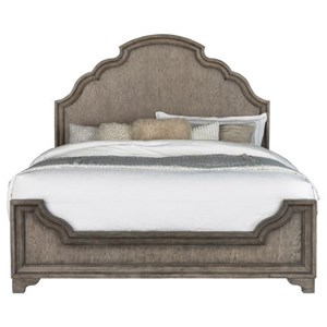 Traditional California King Panel Bed